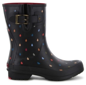 Chooka Women's Rain Dot Mid-Calf Rain Boot Women's Shoes