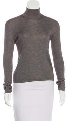 Akris Silk & Cashmere-Blend Knit Top