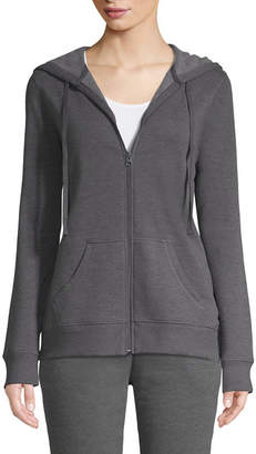 ST. JOHN'S BAY SJB ACTIVE Active Long Sleeve Fleece Jacket - Tall