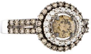 Le Vian 14K Diamond Bi-Color Ring $3,895 thestylecure.com