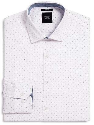 Thomas Pink WRK Pindot Slim Fit Dress Shirt