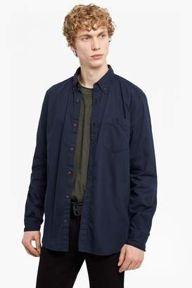 French Connenction Lightweight Peached Oxford Shirt