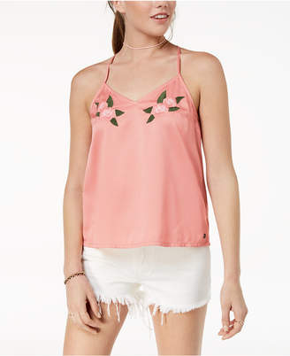 Roxy Juniors' Embroidered Tank Top