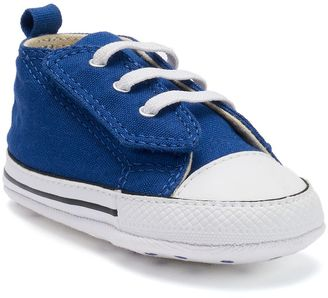 Baby Converse Chuck Taylor All Star Easy-Slip Hi Crib Shoes $22 thestylecure.com