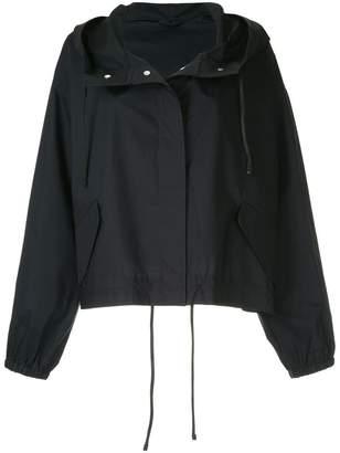 Jil Sander hood cropped jacket