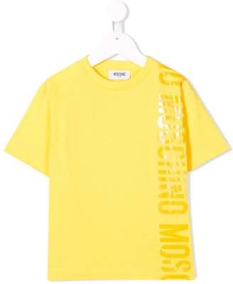 Moschino Kids logo print T-shirt