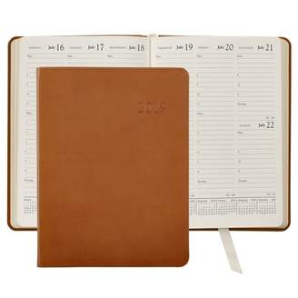 Graphic Image 2019 Leather Desk Diary