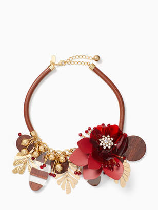 Kate Spade slice of stonestatement necklace