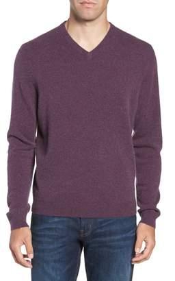 Nordstrom Cashmere V-Neck Sweater