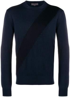 Stella McCartney diagonal stripe sweater