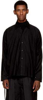 Jan-Jan Van Essche Black Button-Down Shirt
