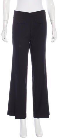 Balenciaga Balenciaga Mid-Rise Wide-Leg Pants