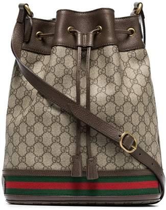Gucci GG logo bucket bag
