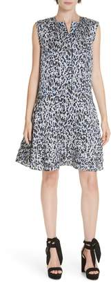 Derek Lam 10 Crosby Flounce Hem Dress