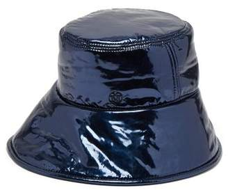 Maison Michel Paulina Bucket Hat - Womens - Navy