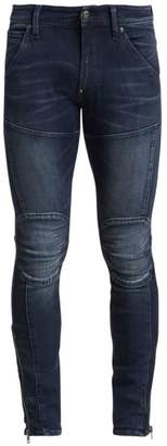 G Star Raw 5620 Skinny Zip Ankle Jeans