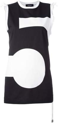 DSQUARED2 t5 tank top