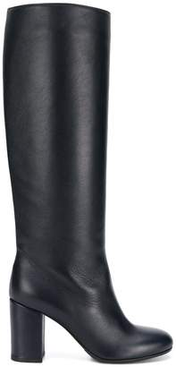 Societe Anonyme Seamless knee length boots
