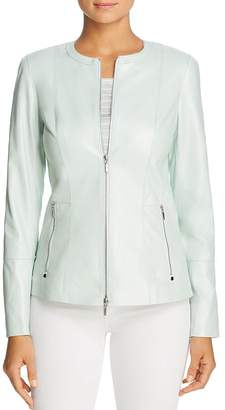 Lafayette 148 New York Janella Leather Jacket