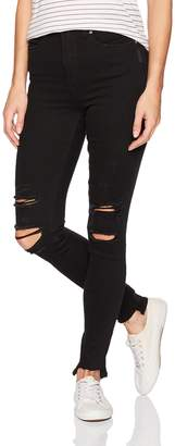 Silver Jeans Women's Robson High-Rise Ankle Jeggings
