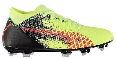 Kids Boys Future 18.4 Junior FG Football Boots Firm Ground Lace Up Studs