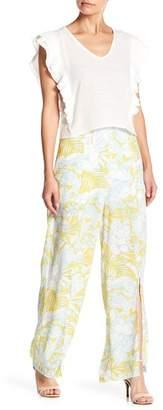 June & Hudson Printed Pants