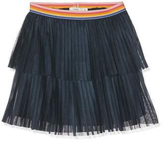 Name It Girls' NKFDIAR Skirt, Blau Dark Sapphire, (Manufacture Size 140)