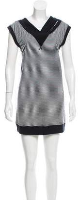 Aiko Striped Mini Dress w/ Tags
