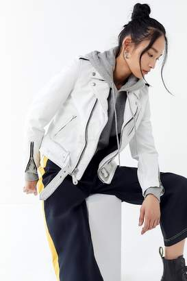Schott Boyfriend Leather Moto Jacket