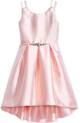 Pink & Violet Satin Dress, Big Girls (7-16) $84 thestylecure.com