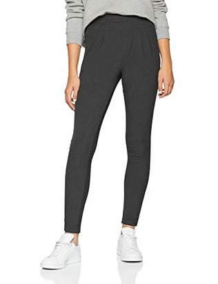 Kaffe Women's Jillian Pants Trousers, (Dark Grey Melange 50016)