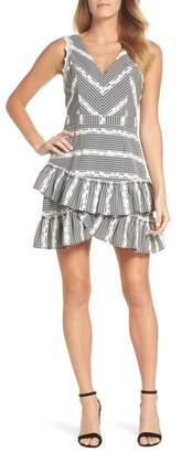 Adelyn Rae Belle Ruffle Gingham Dress
