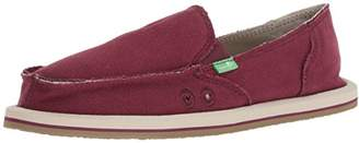 Sanuk Women's Donna Hemp Loafer Flat,0