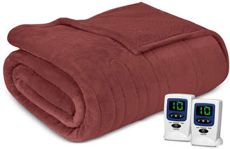 Simmons Microlight Berber King Heated Blanket