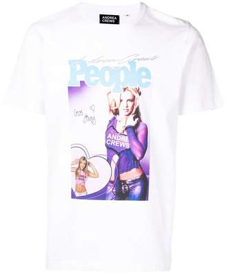 Andrea Crews Britney Spears T-shirt