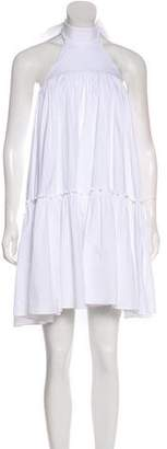 Caroline Constas Ruffled Mini Dress w/ Tags