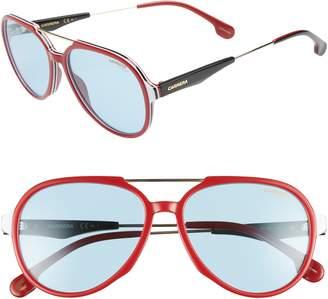 Carrera Eyewear 56mm Aviator Sunglasses