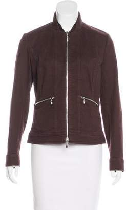 St. John Sport Long Sleeve Zip-Up Jacket