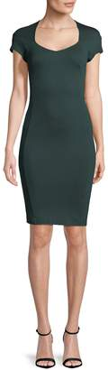 French Connection Women's Solid Scoopneck Dress