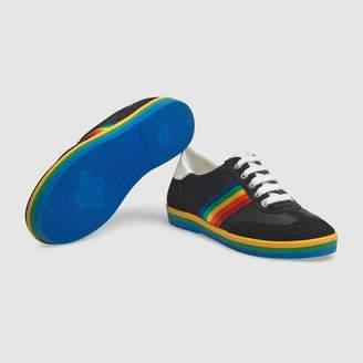65e5742f724 Gucci Children s G74 sneaker with rainbow stripe