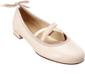 Stuart Weitzman Bolshoi Leather Flat