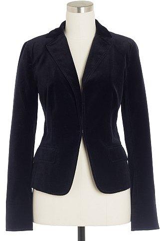 Velvet École jacket