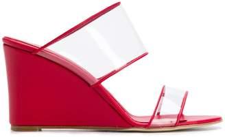 Paris Texas wedge sandals