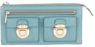 Marc JacobsMarc Jacobs Leather Zip Wallet