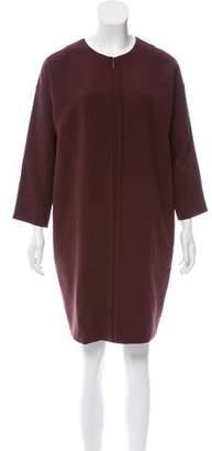 Vince Long Sleeve Mini Dress