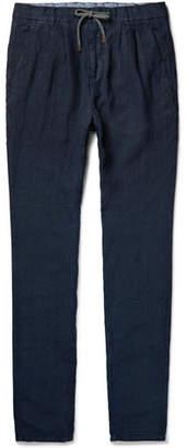 Brunello Cucinelli Linen Drawstring Trousers