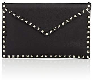 Valentino Women's Rockstud Large Flat Envelope Clutch