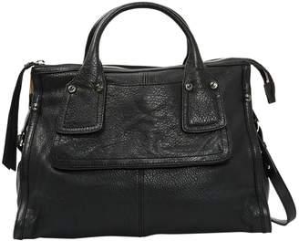 Sportmax Black Leather Handbag