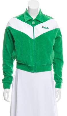 Fila Collared Zip-Up Jacket w/ Tags