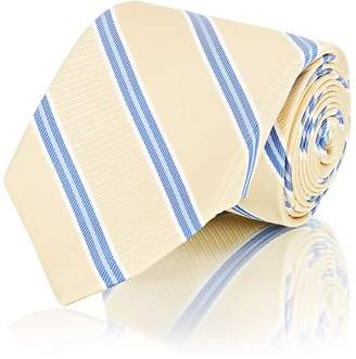 Fairfax Men's Diagonal-Striped Textured Silk Necktie